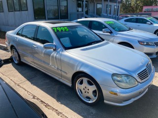Image for 2002 Mercedes-Benz S-Class S AMG 55 ID: 817089