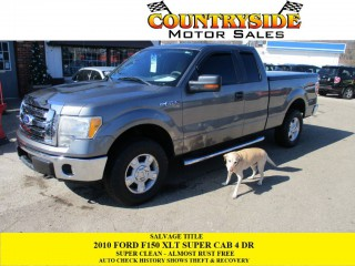 Image for 2010 Ford F-150 Super Cab ID: 1226678