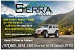Image for Sierra Auto LLC
