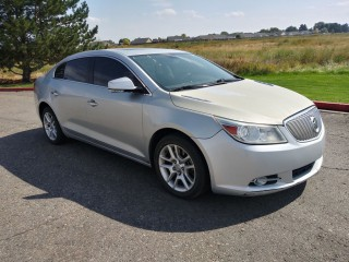 Image for 2010 Buick Lacrosse CXS ID: 108558