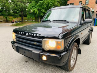 Image for 2003 Land Rover Discovery II SE ID: 126824