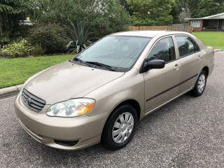 Image for 2004 Toyota Corolla CE ID: 277723