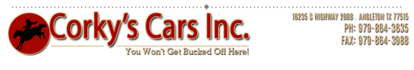 Image for Corky's Cars, Inc.