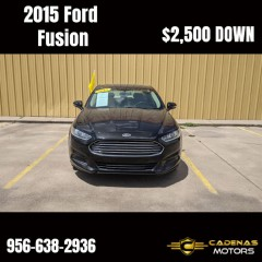 Image for 2015 Ford Fusion SE ID: 1722478