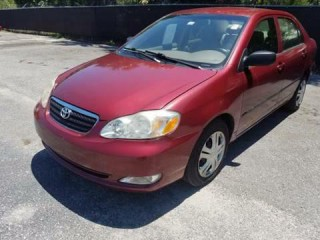 Image for 2005 Toyota Corolla CE ID: 19121