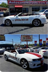 Image for 2011 Chevrolet Camaro 2SS INDY 500 PACE CAR ID: 1525228