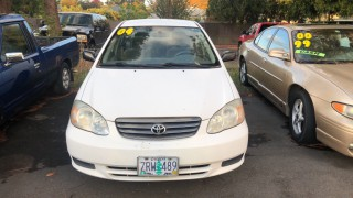 Image for 2004 Toyota Corolla CE ID: 381437