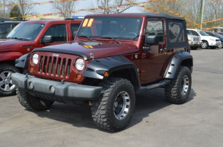 Image for 2008 Jeep Wrangler X ID: 31980